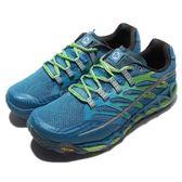 Merrell 戶外鞋 All Out Peak 藍 綠 運動鞋 透氣 越野 休閒鞋 男鞋【PUMP306】 ML03941