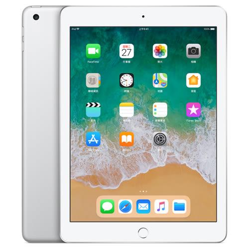 APPLE iPad 128G WiFi 銀MR7K2TA/A【2018新機】【愛買】