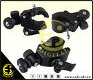 ES數位 強力蟹夾鉗 蟹鉗夾雲台 可外接螢幕 LED攝影燈等 標準1/4螺絲 背景布夾 自行車雲台