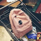 韓版時尚學生書包學生休閒燈芯絨百搭後背包女包【非凡上品】h295