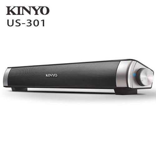 KINYO SoundBar多媒體音箱US-301【愛買】