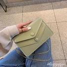 洋氣小包包女新款韓版簡約高級感小方ins時尚質感錬條斜背包 黛尼時尚精品