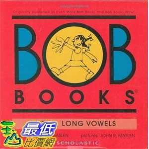 [104美國直購] 2015美國暢銷書排行榜 Bob Books Set 5- Long Vowels