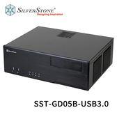 SilverStone 銀欣 SST-GD05B-USB3.0 橫躺式 HTPC 電腦機殼