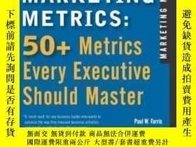 全新書博民逛書店MarketingMetrics: 50+ Metrics Every Executive Should Mast