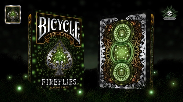 【USPCC撲克】撲克牌 Bicycle Fireflies Playing Cards 螢火蟲撲克