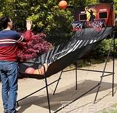 投籃機 籃球投籃器雙人電子投籃機兒童遊戲籃球機自動計分室內籃球架 WJ百分百
