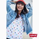 Levis T恤 女裝 / 短袖純棉TEE / 彩色圓點