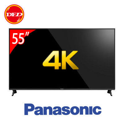 panasonic 國際 LED液晶電視 TH-55FX600W 55吋 六原色 4K智慧聯網 公貨 送北區桌裝+精緻壁掛架