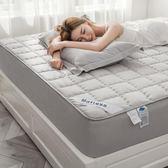 鋪棉單床包/雙人棉質床包單件150x190公分床罩防塵全棉席夢思保護套床墊套舖棉加厚全包保潔墊jj
