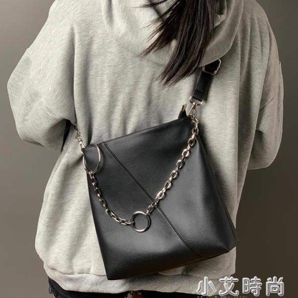 法國小眾包包秋冬大容量單肩包女2020新款時尚斜挎包百搭托特大包【小艾新品】