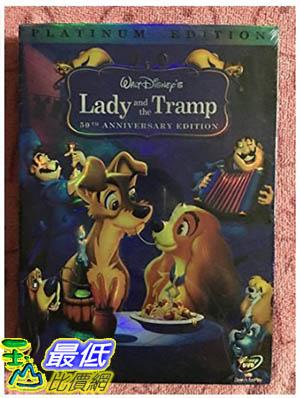 [106美國暢銷兒童軟體] Lady and The Tramp(50th Anniversary Platinum Edition)