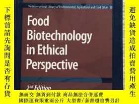 二手書博民逛書店Food罕見Biotechnology in Ethical P