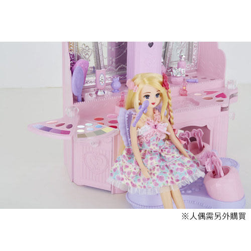 Licca 莉卡娃娃 魔法捲髮化妝台LA10817 TAKARA TOMY
