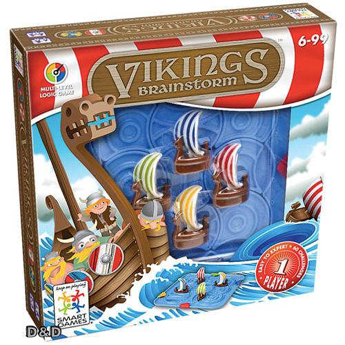 《 信誼 - Smart Games 》北海小英雄 Vikings Brainstorm   /  JOYBUS玩具百貨