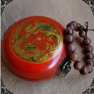 仿古復古明清朝實木質歐式韓國公主手錶戒指盒手串盒佛珠手鍊盒子