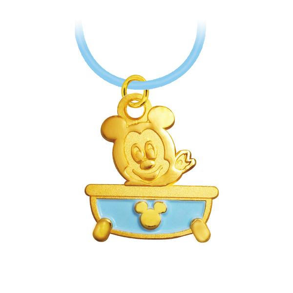 迪士尼金飾-彌月金飾禮盒-澎澎米奇