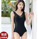 草魚妹-G395泳衣絲亮拉菲連身泳衣游泳衣泳裝M-3L正品,售價1100元