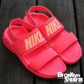 NIKE Wmns Tanjun Sandal 粉紅色 雙帶 涼鞋 女 (布魯克林) 2016/5月 882694-600