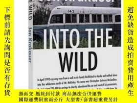 二手書博民逛書店荒野生存罕見阿拉斯加之死 英文原版 Into the Wild 肖恩潘電影原著小說 Jon Krakauer