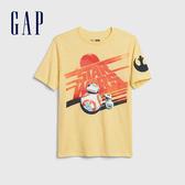 Gap男童Gap x Star Wars星際大戰系列棉質舒適圓領短袖T恤539455-哈瓦那黃