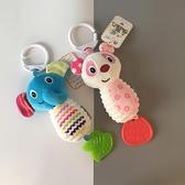 新生嬰兒推車搖鈴吊掛毛絨玩具