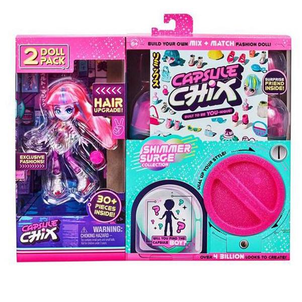 《 Capsule Chix 》閃亮風混裝2入組 / JOYBUS玩具百貨