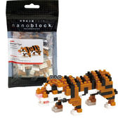《 Nano Block 迷你積木 》【 可愛動物系列 】NBC - 104 孟加拉虎 ╭★ JOYBUS玩具百貨