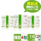 歐芉妮漢方草本植物衛生棉-小資每日清新保健組(護墊12片*4包)