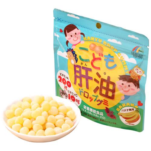 日本兒童保健魚肝油香蕉口味100粒裝440767購通販屋