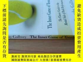 二手書博民逛書店The罕見Inner Game Of TennisY20113