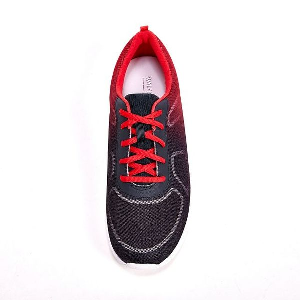 WALKING ZONE 漸層色造型 戶外運動鞋 男鞋-紅黑(另有藍)