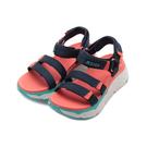 SKECHERS ON THE GO MAX CUSHIONING 健走涼鞋 藍橘 140120NVMT 女鞋