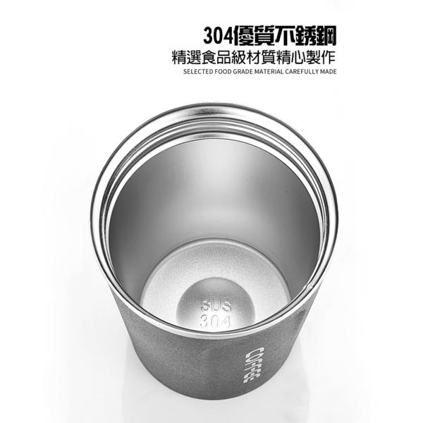 304不銹鋼咖啡杯真空雙層保溫杯500ML