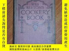 二手書博民逛書店MRS罕見BEETON S COOKERY BOOK177301