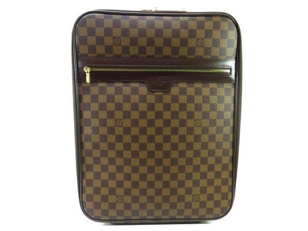LV LOUIS VUITTON 路易威登 棋盤格中型行李箱 Pegas 45 N23293【BRAND OFF】
