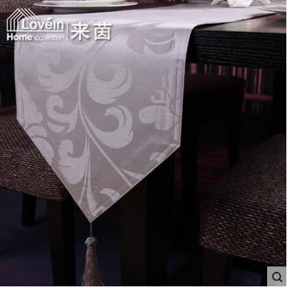 歐式奢華陽離子現代簡約時尚餐桌桌旗布藝 酒店家居飾品