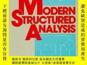 二手書博民逛書店Modern罕見Structured AnalysisY255562 Edward Yourdon Prent