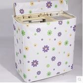 洗衣機罩新雙缸洗衣機罩海爾美的小鴨小天鵝現代雙桶半自動防水防曬套加厚 【8折下殺免運】