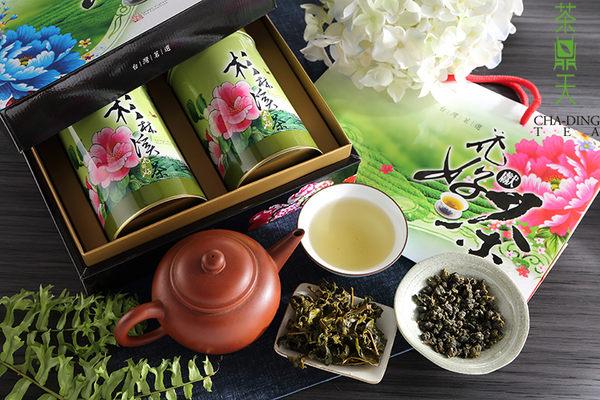 禮盒【茶鼎天】花獻好茶-杉林溪高冷茶禮盒-(100gx2罐組)