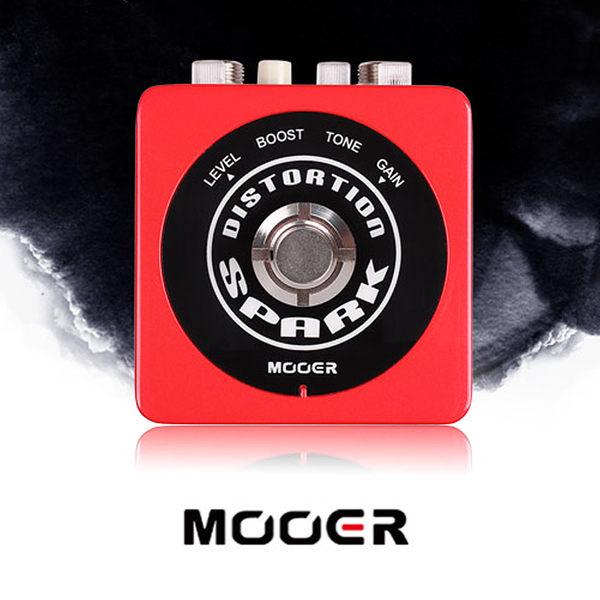 小叮噹的店- MOOER【Spark系列】Spark Distortion 高增益失真 單塊 效果器(MREG-SD)