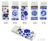 陶瓷青花 16g 隨身碟  辦公商務中國風中國藍隨身碟      俏女孩