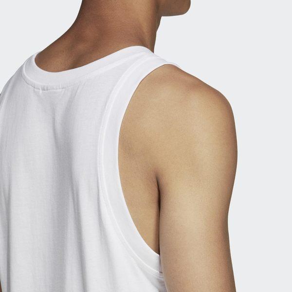 【GT】Adidas Originals 黑白 無袖T恤 純棉 運動 休閒 素色 上衣 背心 愛迪達 基本款 三葉草 Logo
