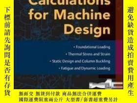 二手書博民逛書店Mark s罕見Calculations For Machine