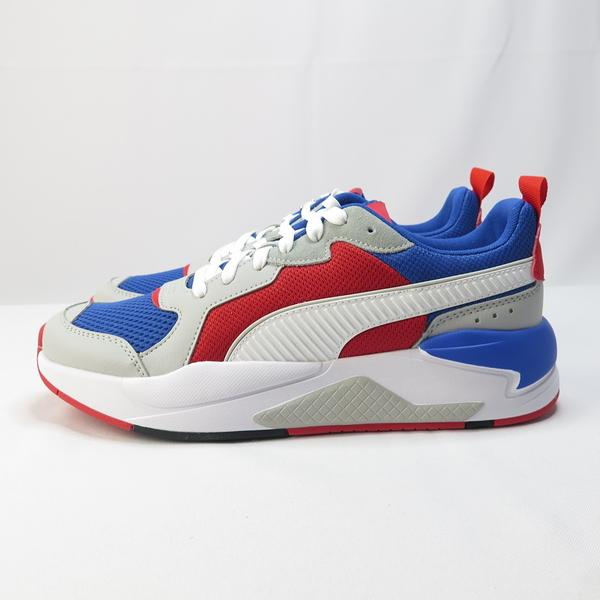 PUMA X-RAY 休閒鞋 撞色 正品 37260204 男款 藍紅【iSport愛運動】