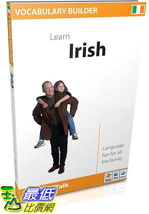 [106美國直購] 2017美國暢銷軟體 EuroTalk Interactive - Vocabulary Builder Learn Irish