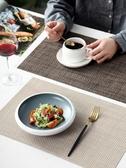 餐墊4張精品加厚西餐墊餐布歐式PVC隔熱墊餐桌墊盤墊碗墊水洗 玩趣3C