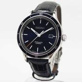 【萬年鐘錶】SEIKO Mechanical 精工6R15 23石 都會機械錶 透明底蓋 銀x藍 41mm 6R15-02V0B(SARG015J)
