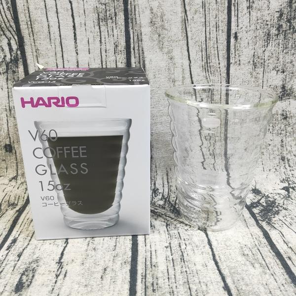 HARIO 雲朵雙層杯 15盎司 玻璃杯 雙層杯 水杯 耐熱玻璃杯