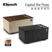 專櫃檯面展示 狀況佳 ★Klipsch 古力奇 無線藍芽喇叭 The Capitol Three 特仕版 限定款黑壇木 公司貨